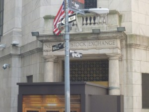 Stock Exchange on Wall Street