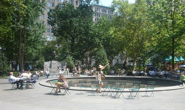Madison Square Park - great for a break