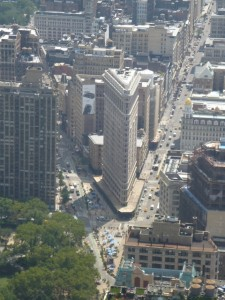 Flatiron Bldg, you can see why