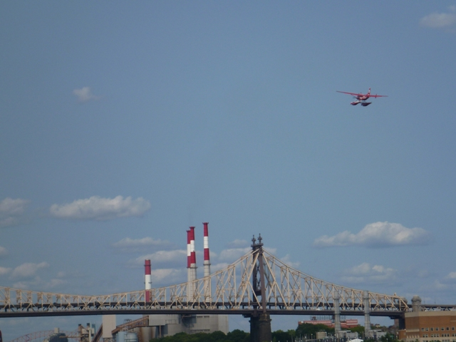 more bridges and more float planes taking off around us