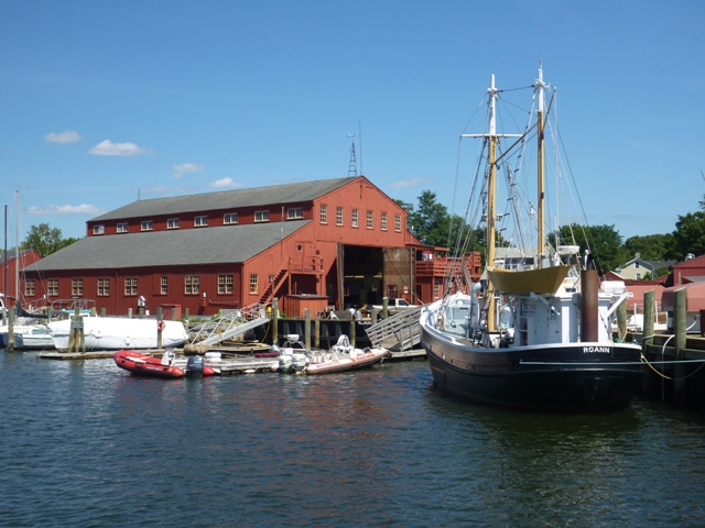 A small part of the huge nautical Museum