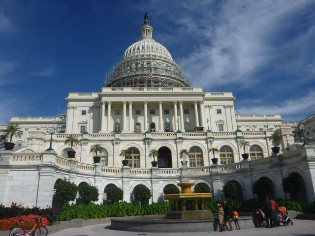 U.S Capitol up close