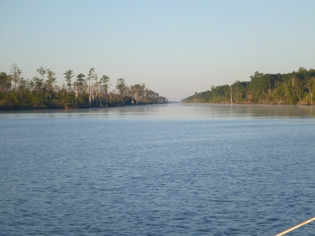Alligator River canal, NC