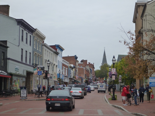 Town of Annapolis is very cute