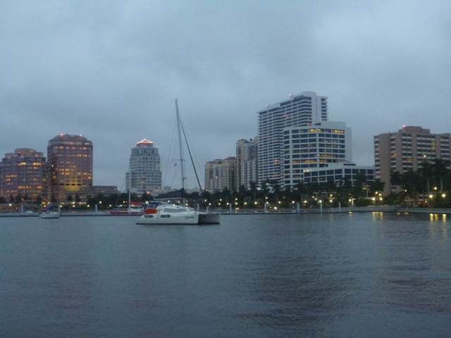 Our home in West Palm Beach at the waterfront