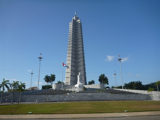 Plaza de la Revolución is the base of the Cuban govt where many political rallies have been held