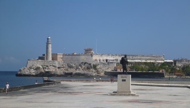 View to Castillo del Morro from Malecón