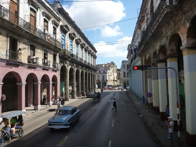 Centro Habana - a little paint would help as the architecture is amazing