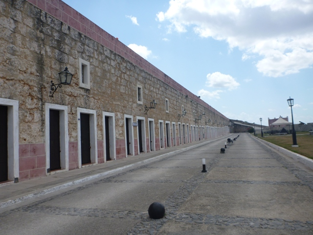 Fort de San Carlos would be great as a hotel but was overpriced to enter at approx US$6 each.