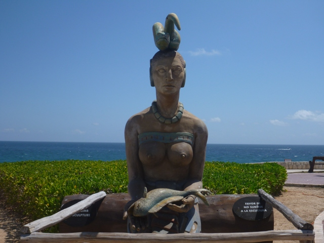 Goddess of Fertility - Ixchel at Punta Sur on the far end of the island