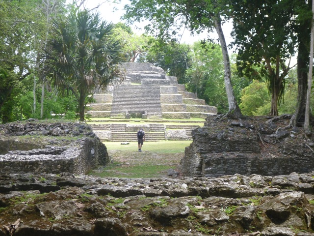 The Royal Complex was used by the elite Mayans