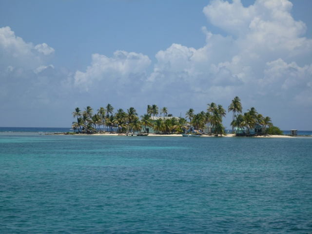 Carrie Bow Cay, which has a smithsonian research centre
