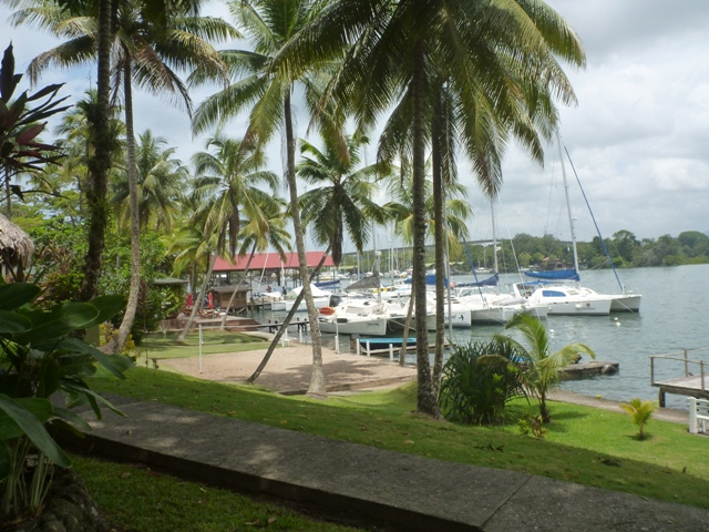 Our berth at Nana Juana
