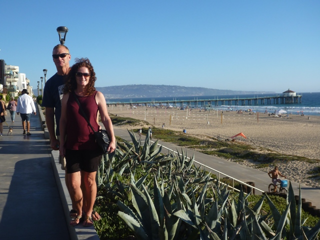 At Manhattan Beach