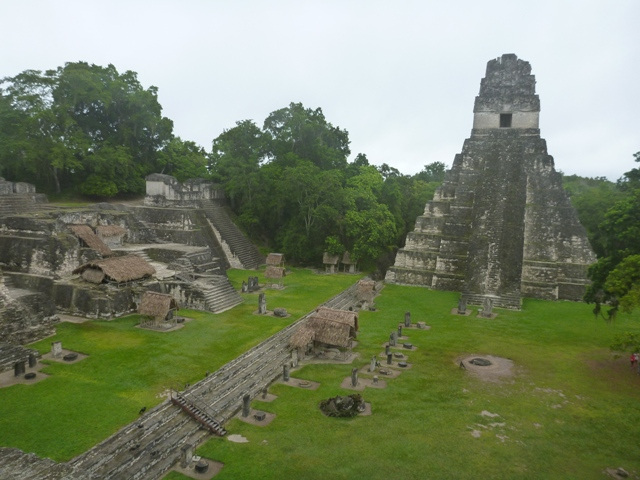 Temple 11 in the Main Plaza