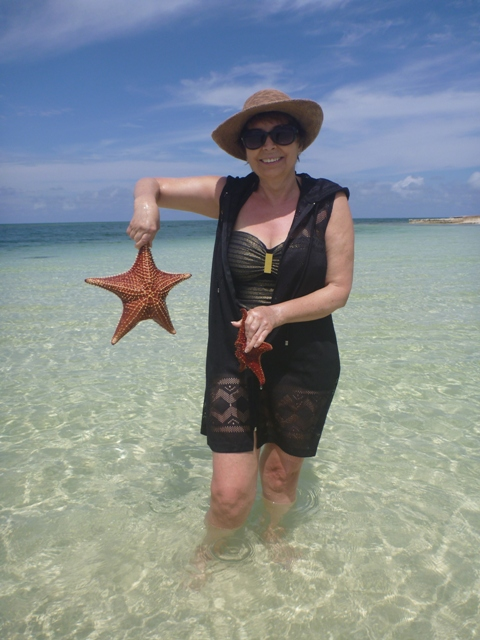 Carey at Starfish Point