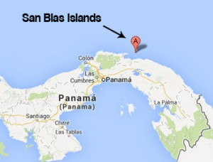 san-blas-islands-location