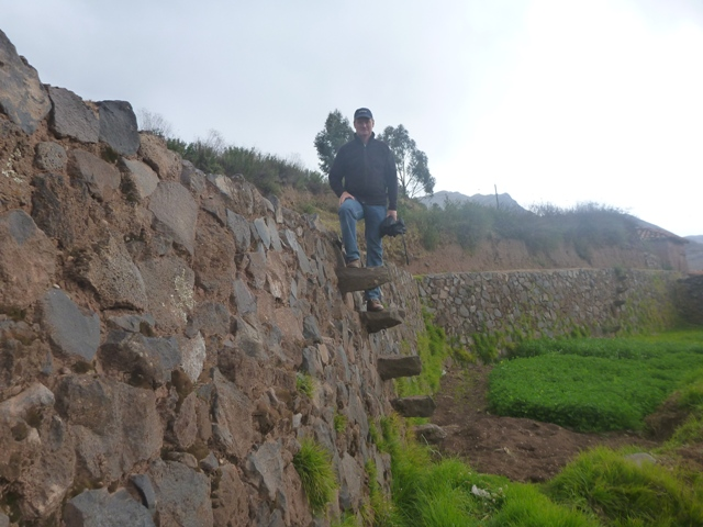 loved the Inca floating stairs