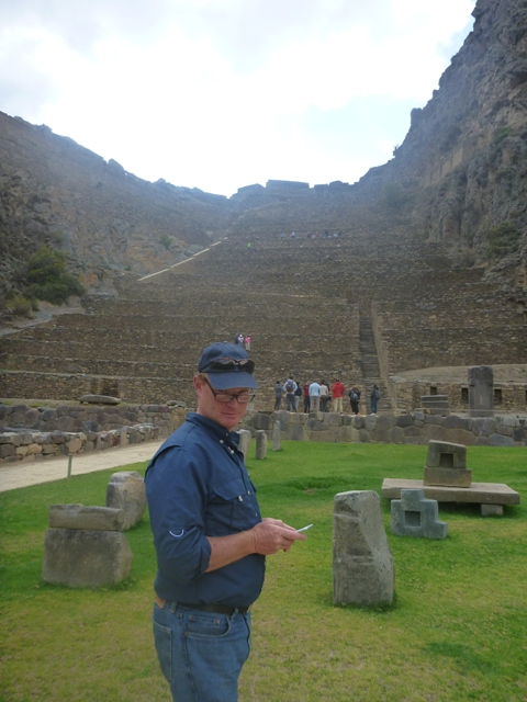 Inca ruins or searching the net